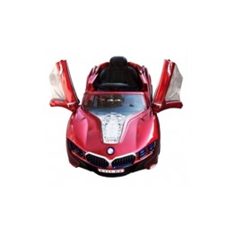 Электромобиль BMW E111KX VIP, вишнёвый металлик
