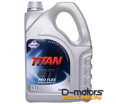 FUCHS TITAN GT1 PRO FLEX 5W-30 (4л.)