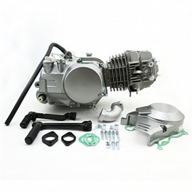 Двигатель в сборе YX 153FMI 125см3, кикстартер, запуск на нейтрали