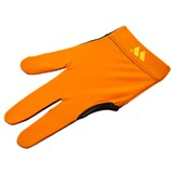 """Перчатка бильярдная """"WB"""" (черно-оранжевая), защита от скольжения, интернет-магазин товаров для бильярда Play-billiard.ru"""