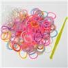 Набор резиночек Двух Цветные Волна для плетения Loom Bands 200 шт