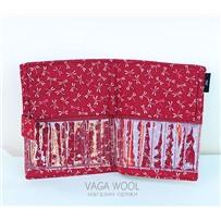 Текстильный пенал типа А для хранения спиц 10,12,5,14 см, KA Seeknit 06517-02