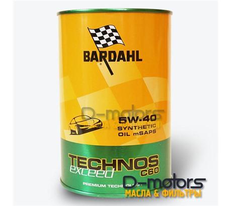 Bardahl Technos C60 5W-40 Exceed (1л)