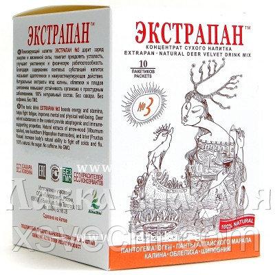 Напиток «Экстрапан» №3 для укрепления иммунитета