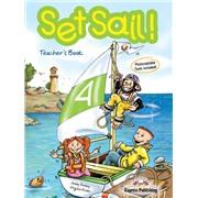 set sail 4 teacher's book - книга для учителя (with posters)