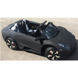 Электромобиль Lambo LS-518, чёрный матовый