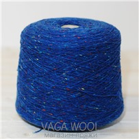 Пряжа Твид Soft Donegal Конфетти 5565, 190м в 50 г. Knoll Yarns, Deep Blue