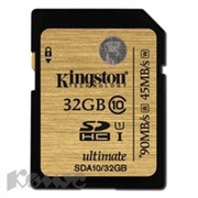 Карта памяти Kingston SDHC 32GB Class 10 UHS-I Ultimate(SDA10/32GB)