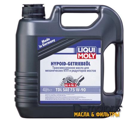 LIQUI MOLY HYPOID-GETRIEBEOIL TDL 75W-90 (4л.)