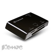 Картридер Transcend TS-RDP8K Multi-Card Reader Black