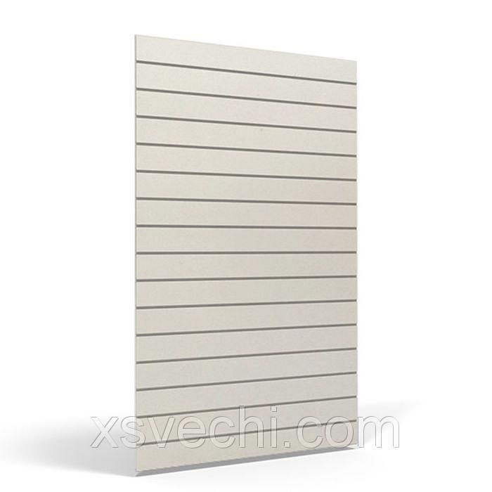Экономпанель вертикальная, 120*240, цвет белый