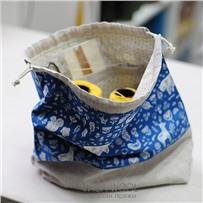Проектная сумка (большая) Синяя сказка