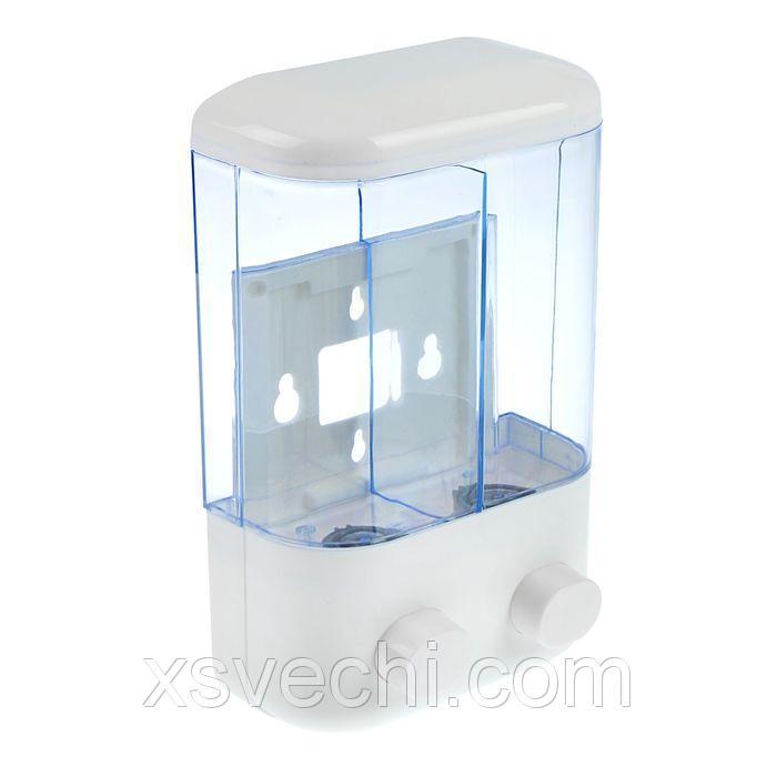 Диспенсер жидкого мыла 2х450 мл