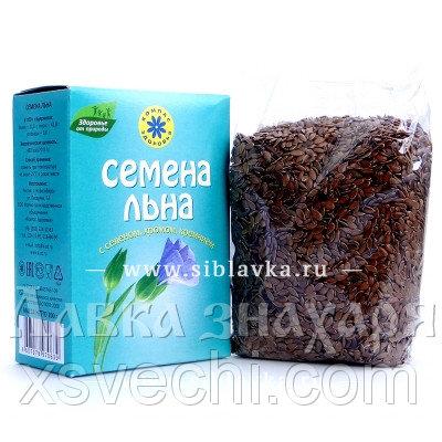 Семена льна «Компас Здоровья» с селеном, хромом, кремнием