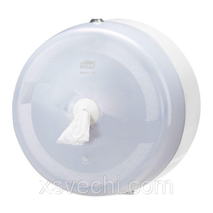 Диспенсер Tork SmartOne для туалетной бумаги в рулонах (T8) белый