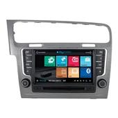 """Штатное головное устройство MyDean 3257-1 для Volkswagen Golf 7  2013-  Dark Silver """"Comfortline"""""""