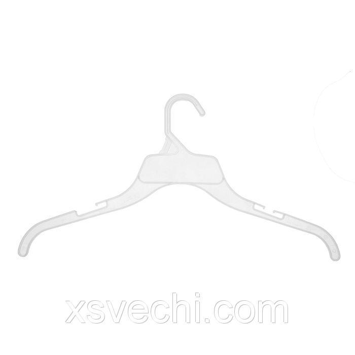 Вешалка для одежды L=44, цвет прозрачный