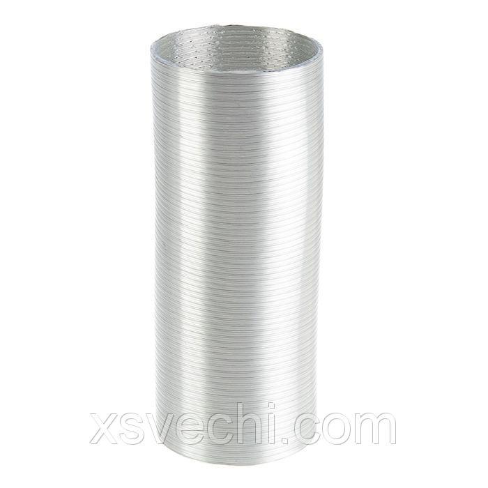Канал алюминиевый, гофрированный, d=110 мм, 3 м