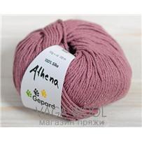 Пряжа Gepard Garn Athena шёлк 610 Розовый пыльный