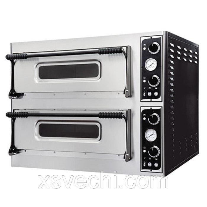 Печь для пиццы Gemlux GEP 44, 50-500°С, два модуля