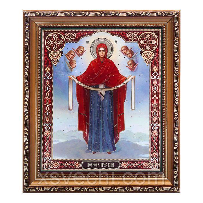 """Картина-икона """"Покров Пресвятой Богородицы"""""""