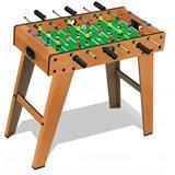 """Настольный футбол (кикер) """"Standard"""" (69x37x65 см, коричневый), интернет-магазин товаров для бильярда Play-billiard.ru"""