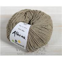 Пряжа Gepard Garn Athena шёлк 146 бежевый пыльный