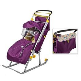 Детские санки-коляска Ника Детям-1