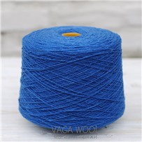 Пряжа Lambswool Корнуэльская синева 240, 212м/50г., Knoll Yarns, Cornish blue