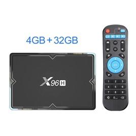 Медиаплеер Vontar ТВ-приставка Vontar X96H 4/32 Gb на Android 9 (Allwinner H603)