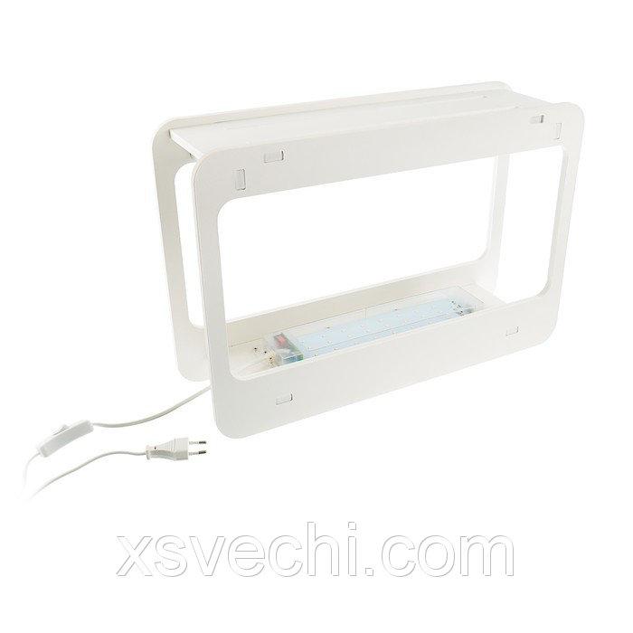 Фитосветильник светодиодный Uniel Минисад, спектр для фотосинтеза, 15Вт, 230В, Бел.