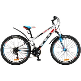 Велосипед Stels Navigator 450 V 24 (2016) Белый/Черный/Красный/Синий (2016), интернет-магазин Sportcoast.ru
