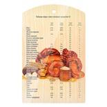 Доска разделочная Marmiton Выпечка дерево 29х18,5 см 17040