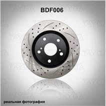 BDF006. Передняя ось. Перфорация + слоты