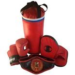 Набор боксерский Чемпион (мешок 40см,перчатки, лапы, пояс чемпиона)