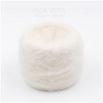 Пряжа Fluffy Белый, 265м/50г, Lama Lima