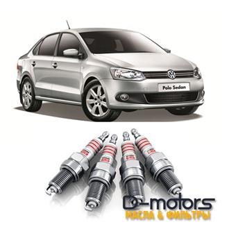 Свечи зажигания для VW POLO с 2015г, 1.6 (90, 110 л.с.)