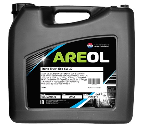 AREOL Trans Truck ECO 5W-30 (20 л.)