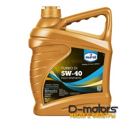Моторное масло Eurol Turbo DI 5W-40 (4л.)