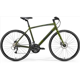 Велосипед Merida Crossway Urban 40D Fed Green/Dark Green (2017), интернет-магазин Sportcoast.ru