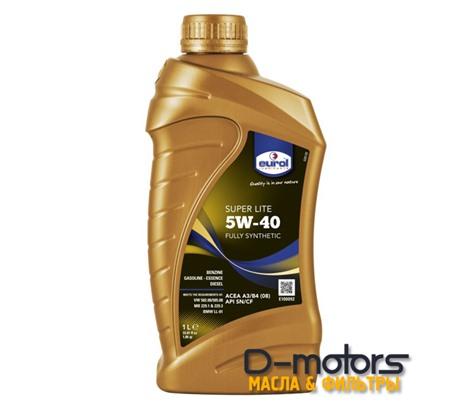 Моторное масло Eurol Super Lite 5W-40 (1л.)