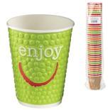 Одноразовые стаканы бумажные 200 мл Хухтамаки Enjoy 37 шт