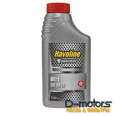 TEXACO HAVOLINE ULTRA 0W-20 (1л.)