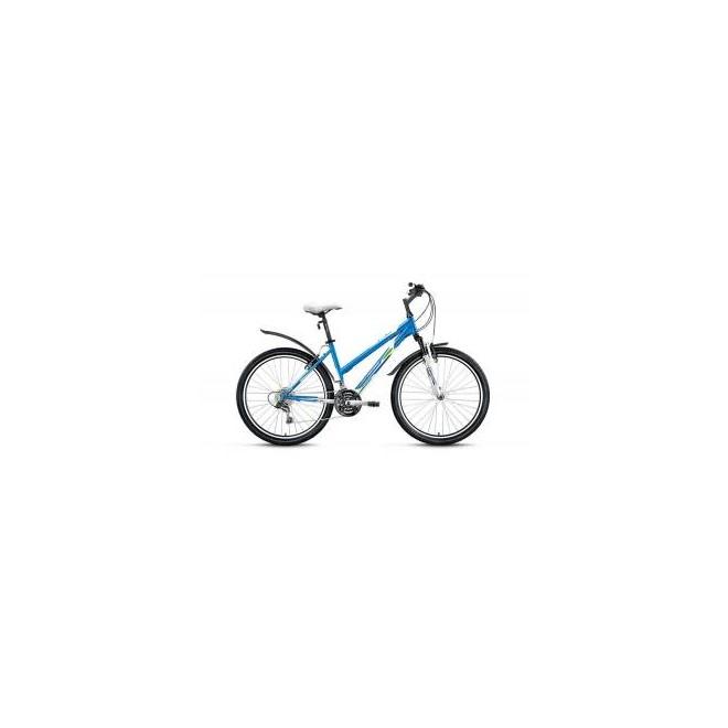 Велосипед Forward Iris 1.0 26 (2017) Белый/Синий Матовый, интернет-магазин Sportcoast.ru