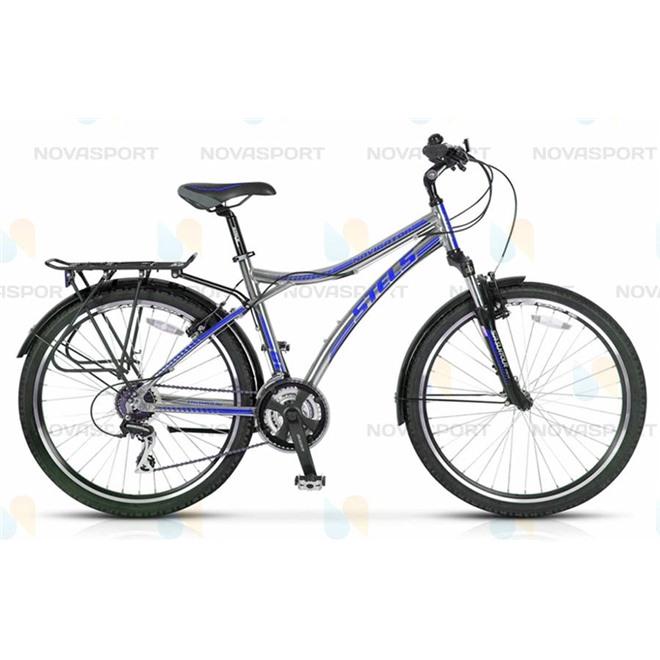 Велосипед Stels Navigator 800 (2014) Серый/Синий , интернет-магазин Sportcoast.ru