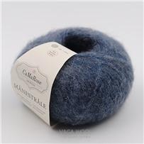 Пряжа Manestrale Синий джинс 9018, 200м/25г, CaMaRose, Jeansbla