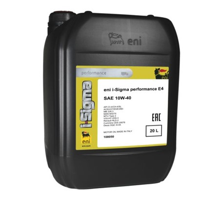 Eni I-Sigma Performance E4 10W-40 (20л.)