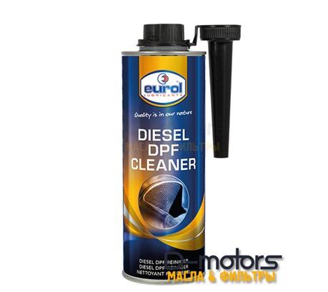 Присадка для очистки и восстановления сажевых фильтров Eurol DPF Cleaner (500мл.)