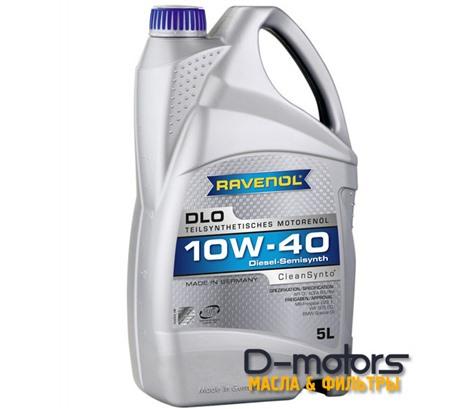 Моторное масло Ravenol DLO 10W-40 (5л.)