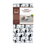 Коврик для сушки посуды Marmiton Котики микрофибра 35х50 см 17333